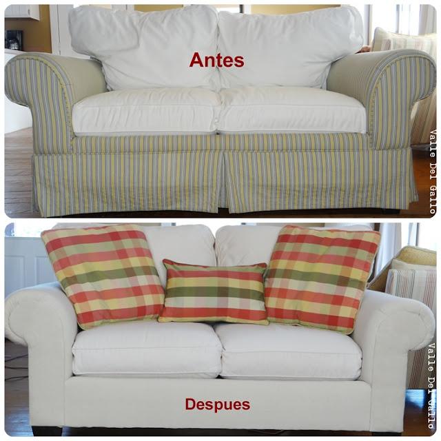 Valle del gallo retapizando un sofa reupholstering a sofa - Tapizar sillon paso a paso ...