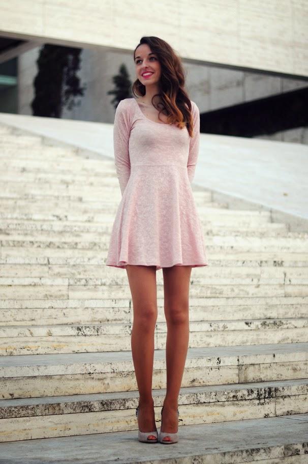 Rosa empolvado coraz n de maniqui - Color rosa empolvado ...
