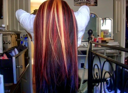 4 styles for brown hair with blonde and red highlights chocolate brown hair with blonde highlights pmusecretfo Choice Image