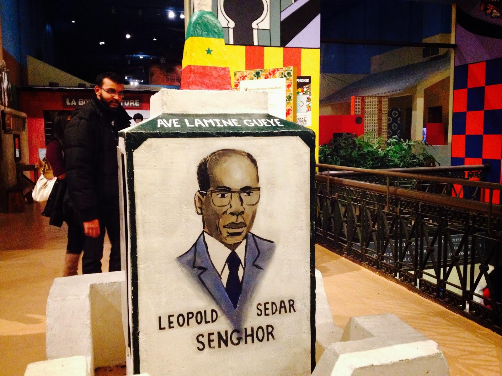 Leopold Sedar Senghor, First President of Senegal