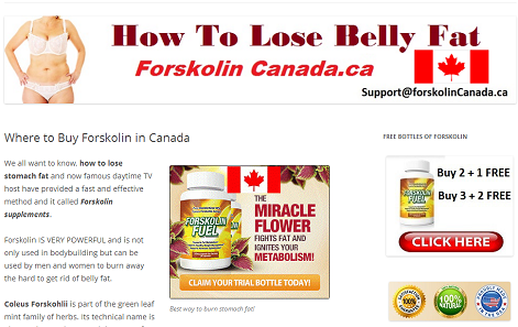 Where to buy Forskolin Online