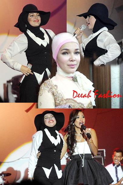 Dewi Sandra Berjilbab Java Jazz Fest 2013