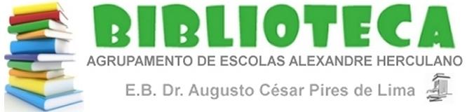 Biblioteca da EB23 Dr. A.C. Pires de Lima - Agrupamento de Escolas Alexandre Herculano