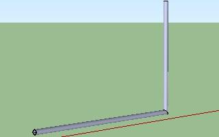 Cara membuat pipa dengan menggunakan Google SketchUp-4