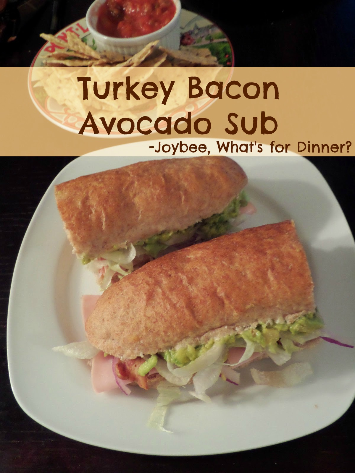 Turkey Bacon Avocado Sub: Sliced turkey breast, crispy bacon, and ...