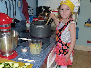 In the Kitchen with Audrey: Green Monster Soup, Blizzard of Oz 2013