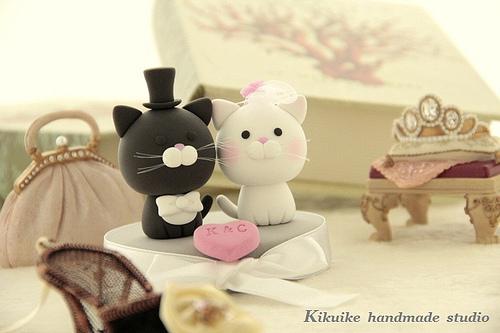 segnaposto matrimonio gatto