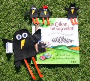 """llibre infantil """"en Calvin no sap volar"""""""