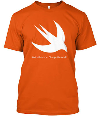 Swift Programmer T shirt