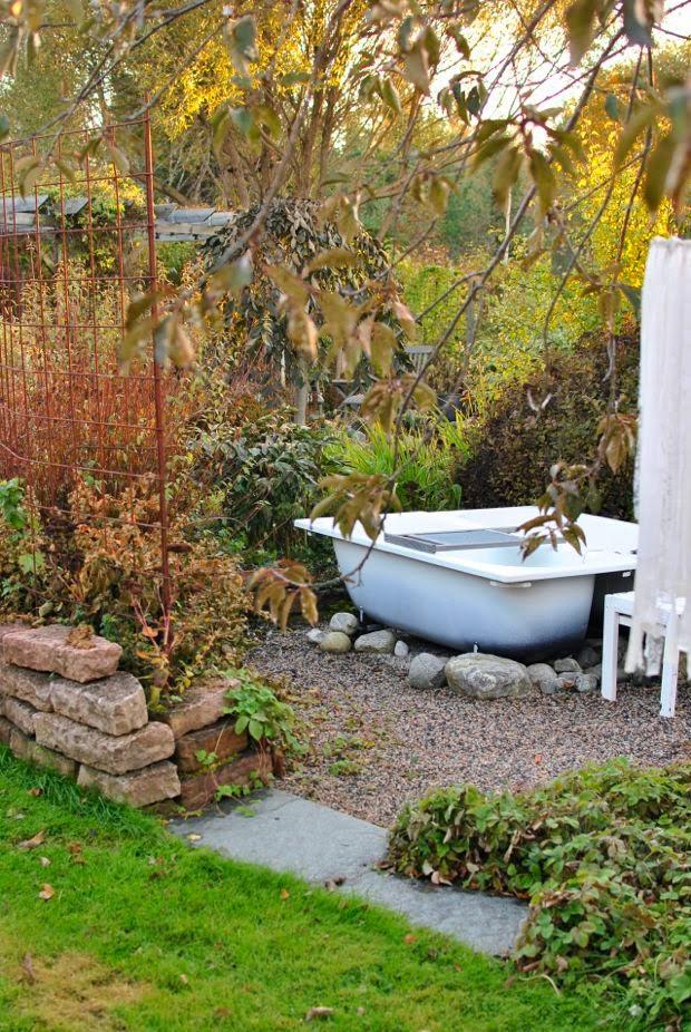 höst trädgård utespa ölandssten