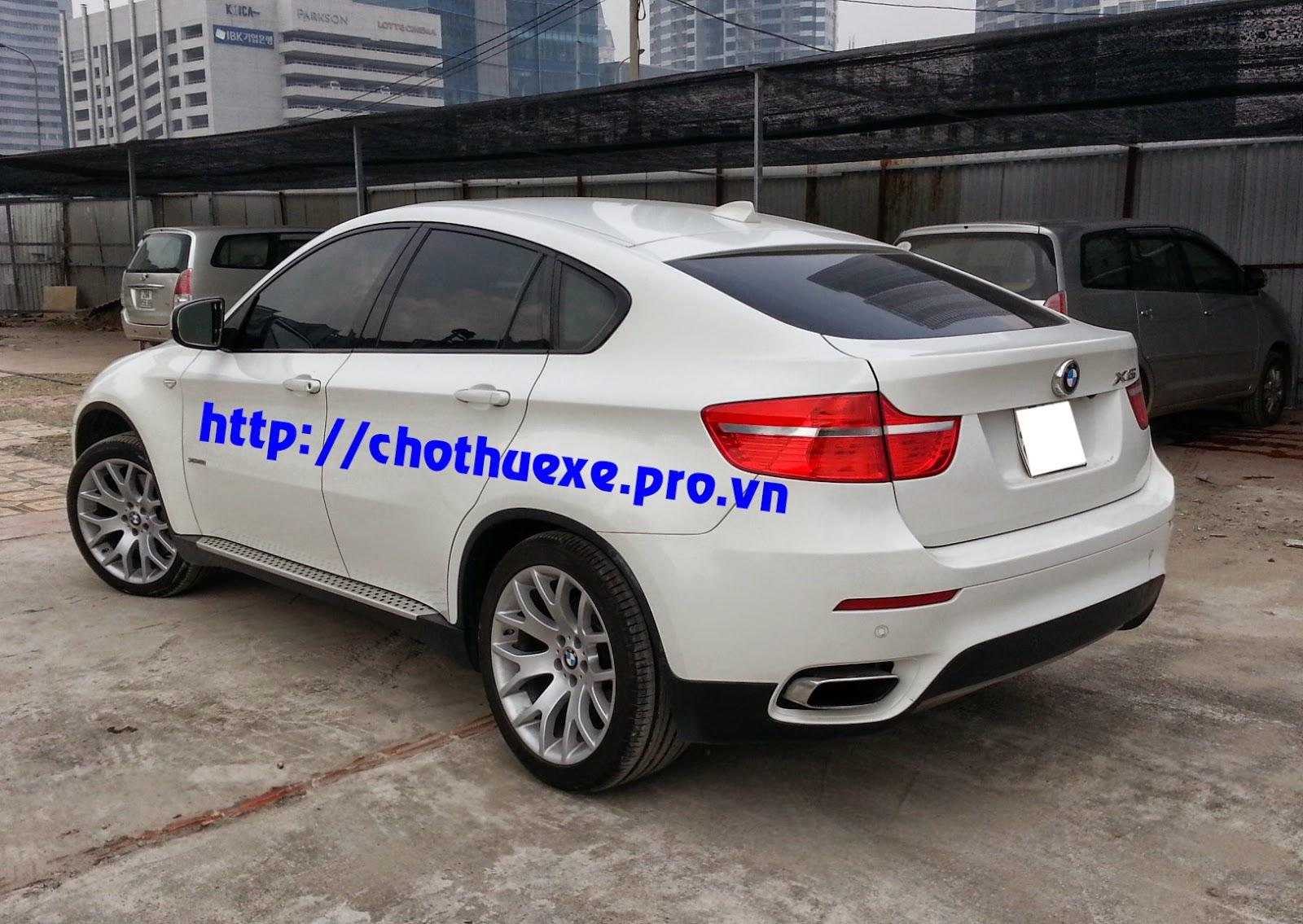Cần thuê xe BMW X6 giá rẻ chỉ có ở Đức Vinh