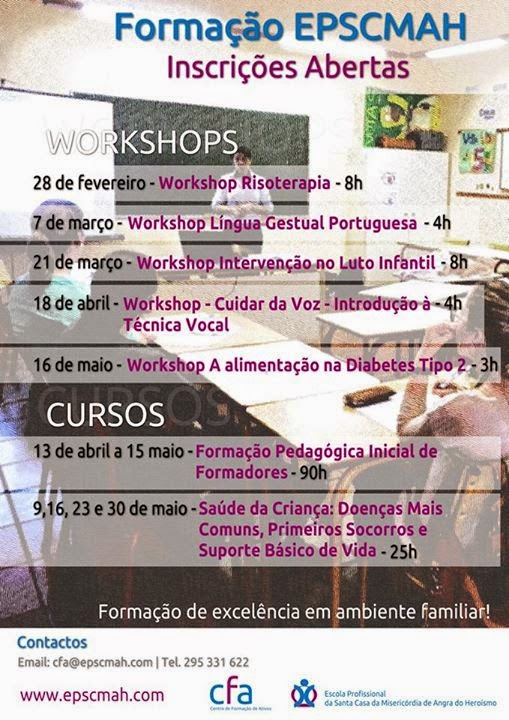 Workshops Angra do Heroísmo 2015