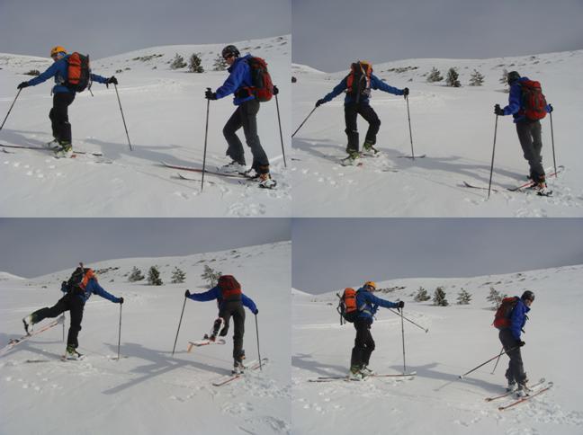 Curso de Esquí de Montaña. Valdezcaray.