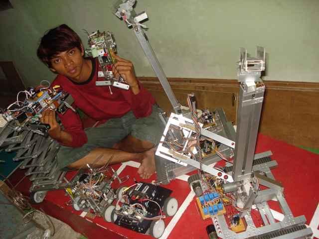 Tutorial belajar membuat robot sendiri