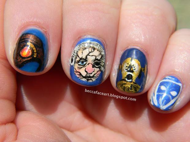 becca face nail art bioshock infinite