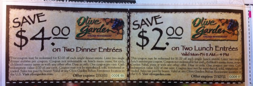 In Store Printable Coupons Discounts And Deals Printable Coupons 2014 Olive Garden Coupons