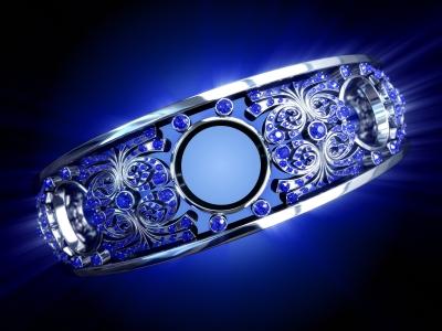 Исполнение желаний Platinum-blue-diamond-ring