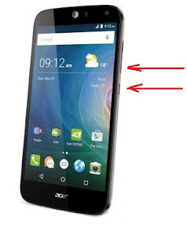 Cara Screenshot HP Android Terbaru Acer Z320