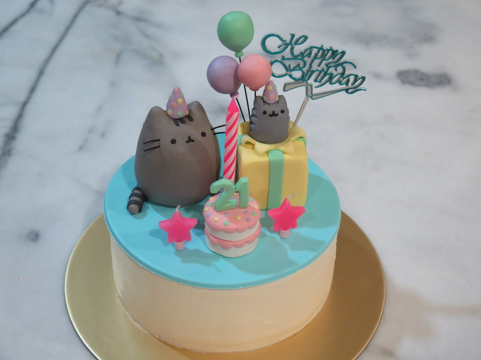 ... Box: Special: My 21st Birthday! (korean BBQ, pusheen cake, dim sum
