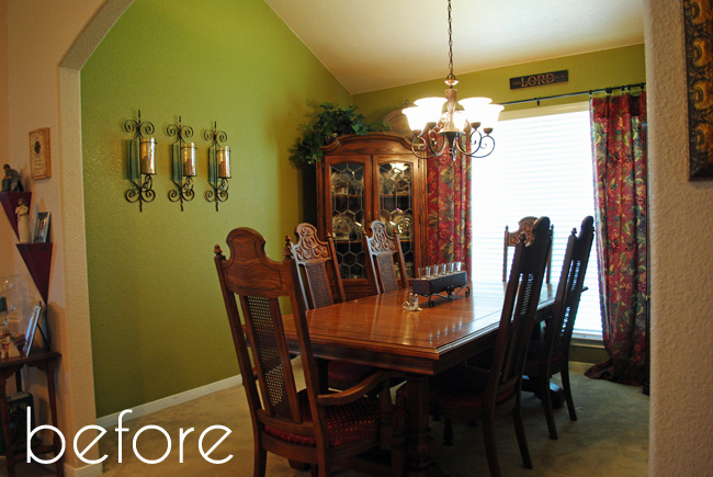 I should be mopping the floor dining room makeover on a for Nursing home dining room ideas