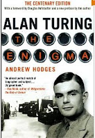 Cover of a book by Andrew Hodges, 'Alan Turing, The Enigma - The Centenary Edition,' Princeton University Press 2012