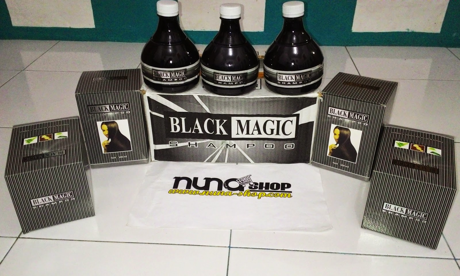 Black Magic shampoo penumbuh rambut ,pemanjang rambut,dan menutrisi rambut dalam pertumbuhan,penghalus rambut berbahan kemiri,lidah buaya dan kemiri