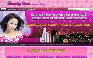 Toko Online Produk Kecantikan