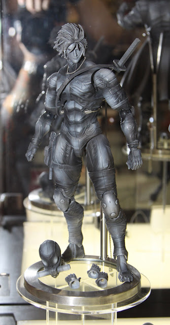 Square Enix Play Arts 2013 Toy Fair Display - Metal Gear Solid Raiden figure