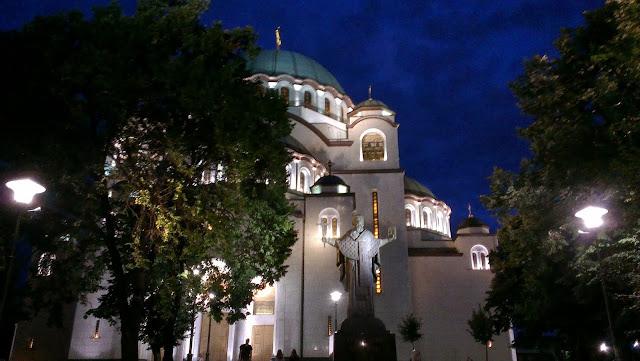 Catedral de San Sava, Belgrado.