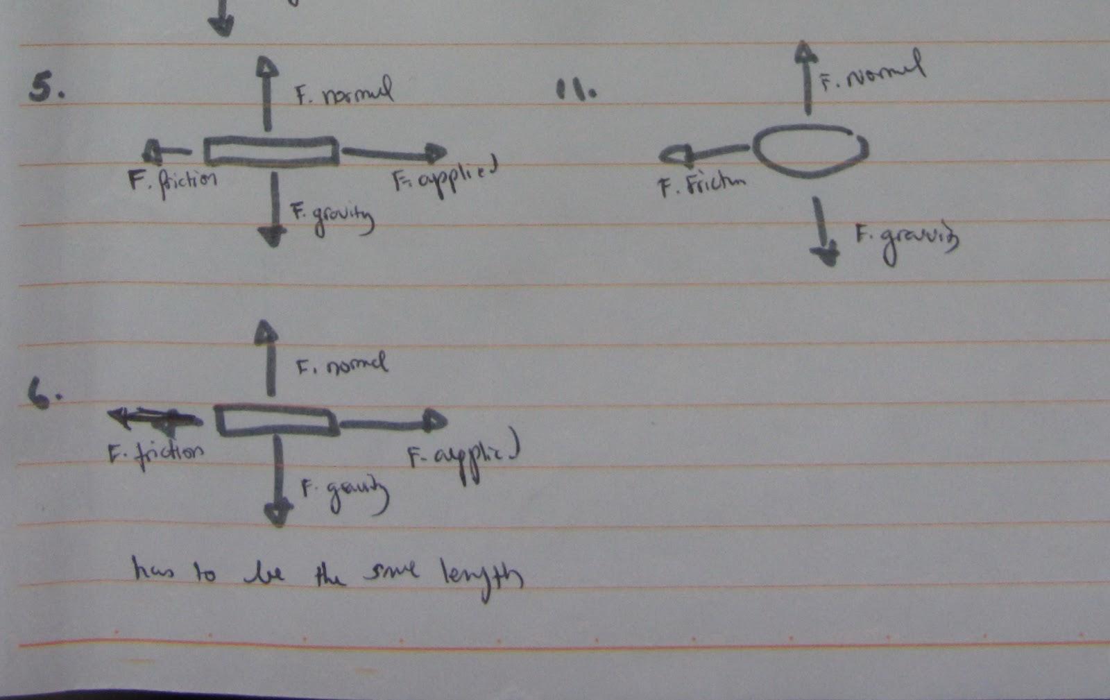 Amiras School Blog Free Body Diagram Worksheet On Freebody Diagrams