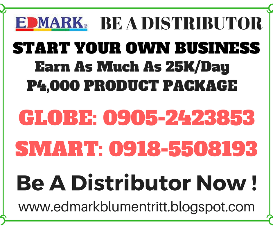 BE OUR DISTRIBUTOR