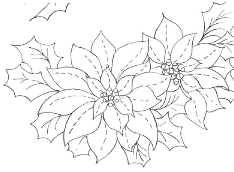 Cantinho da jana risco para pintura em tecido de natal - Pintura en tela motivos navidenos ...