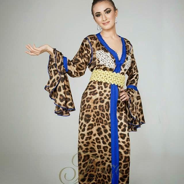 caftan 2014 leopard