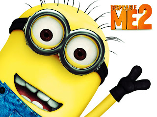 Despicable Me 2 Smiling Cute Minion HD Wallpaper