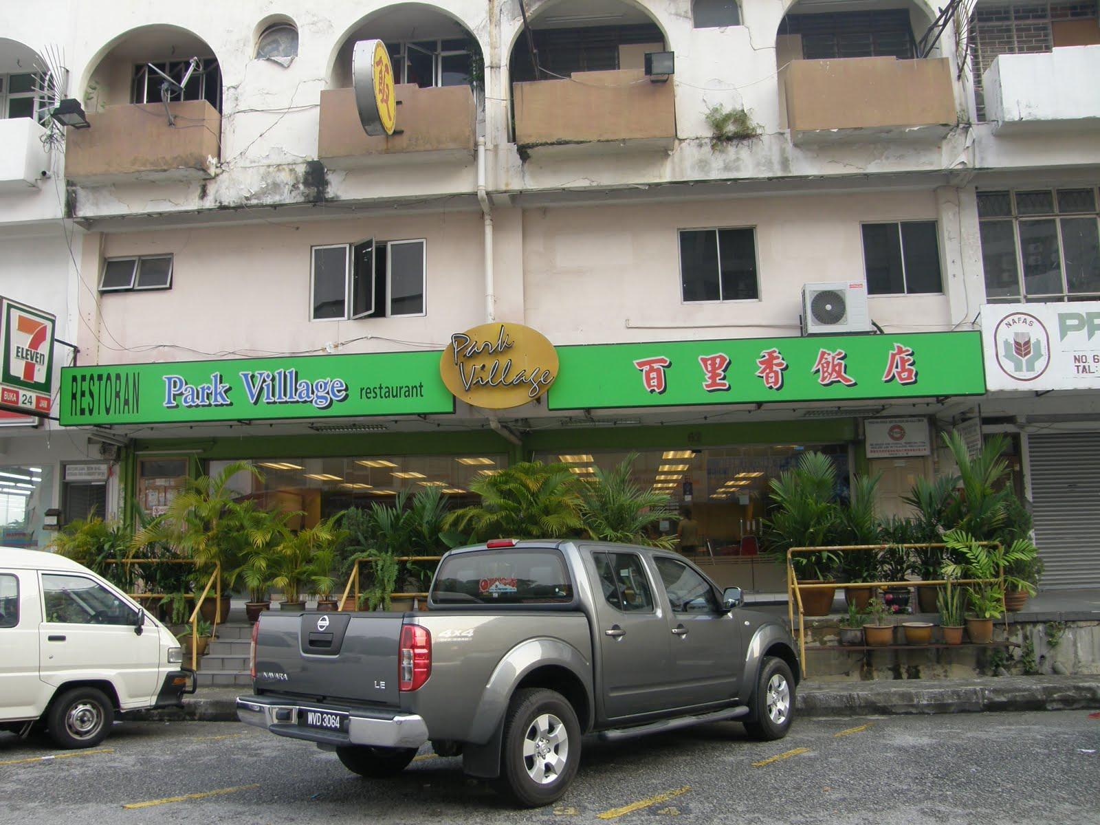 doggyjames says park village restaurant klang. Black Bedroom Furniture Sets. Home Design Ideas
