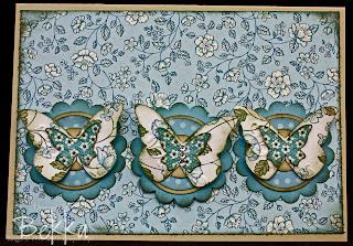 Springtime Vintage No Stamping Card