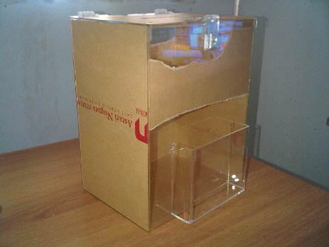 kotak saran/ kotak amal