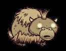 Baby Beefalo character image from Don't Starve by Klei Entertainment