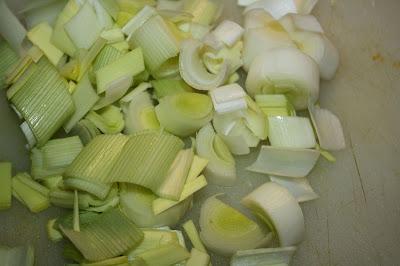 ricetta minestrone porri