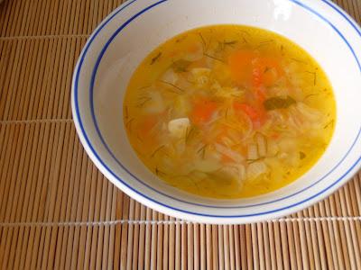 суп легкий из овощей