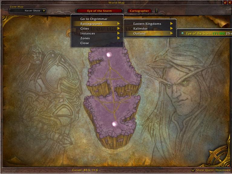 World of warcraft - quest helper lite addon