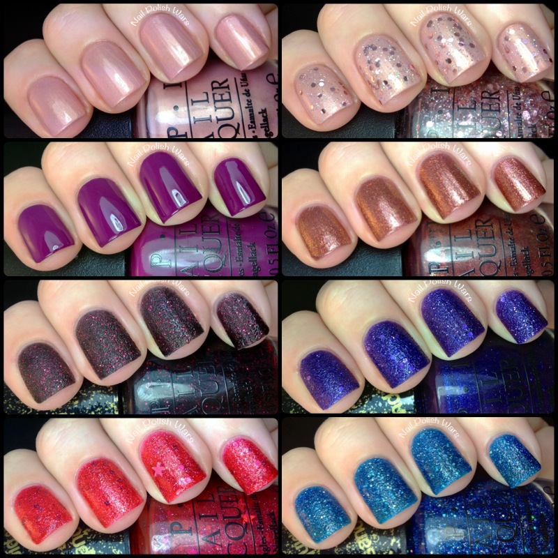 Nail Polish Wars: OPI Mariah Carey Collection Swatch & Review