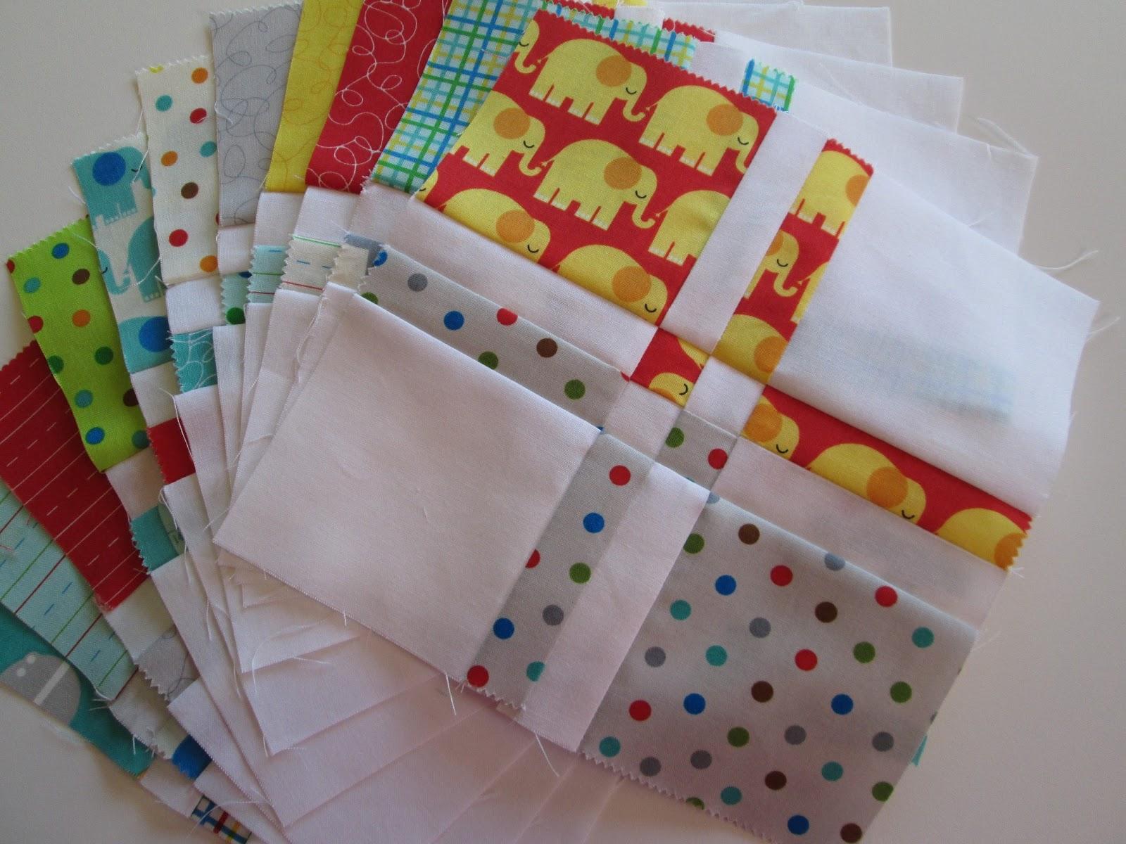 stitch by stitch wip wednesday charm pack baby quilt