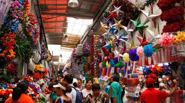 El Mercado de la Merced, México DF.