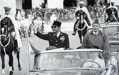 Rabat, 2 Mei 1961 Presiden Sukarno dan Raja Mohammed V