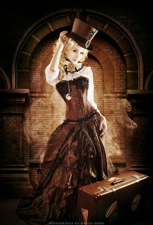 fashionable steampunk styles