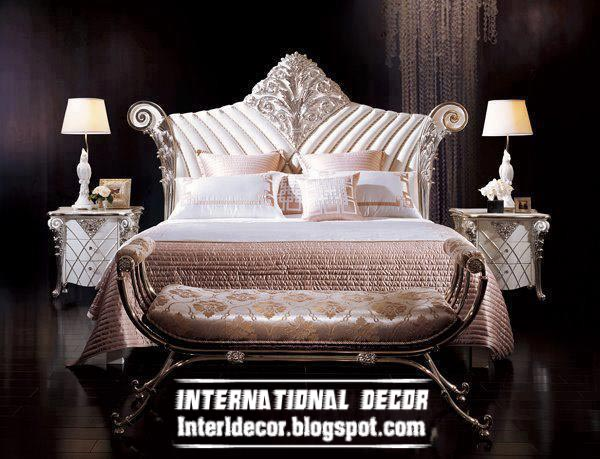 Luxury beds royal bed designs for kings bedroom