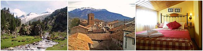 Casa apartamentos turismo rural Campo Huesca. Pirineo Aragonés