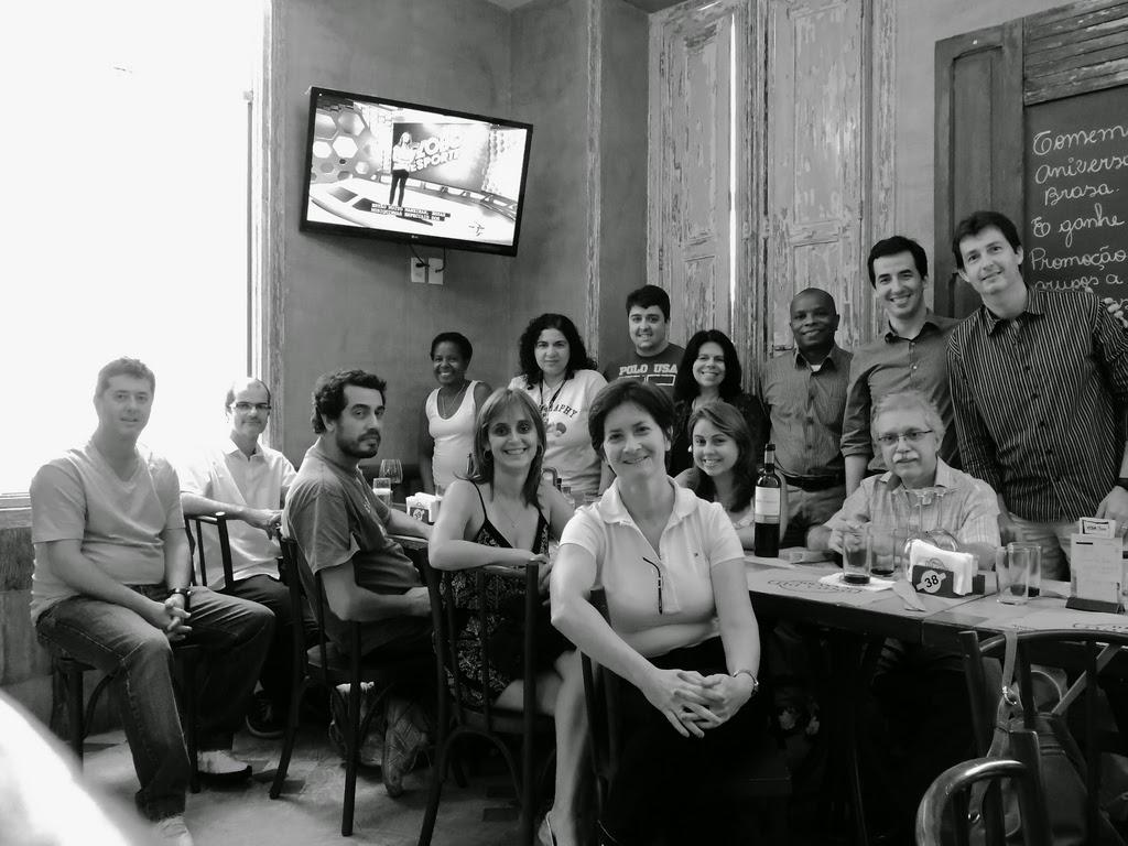PhotoConversa - Almoço de Fim de Ano 2014 -Brasa na Casa - Botafogo
