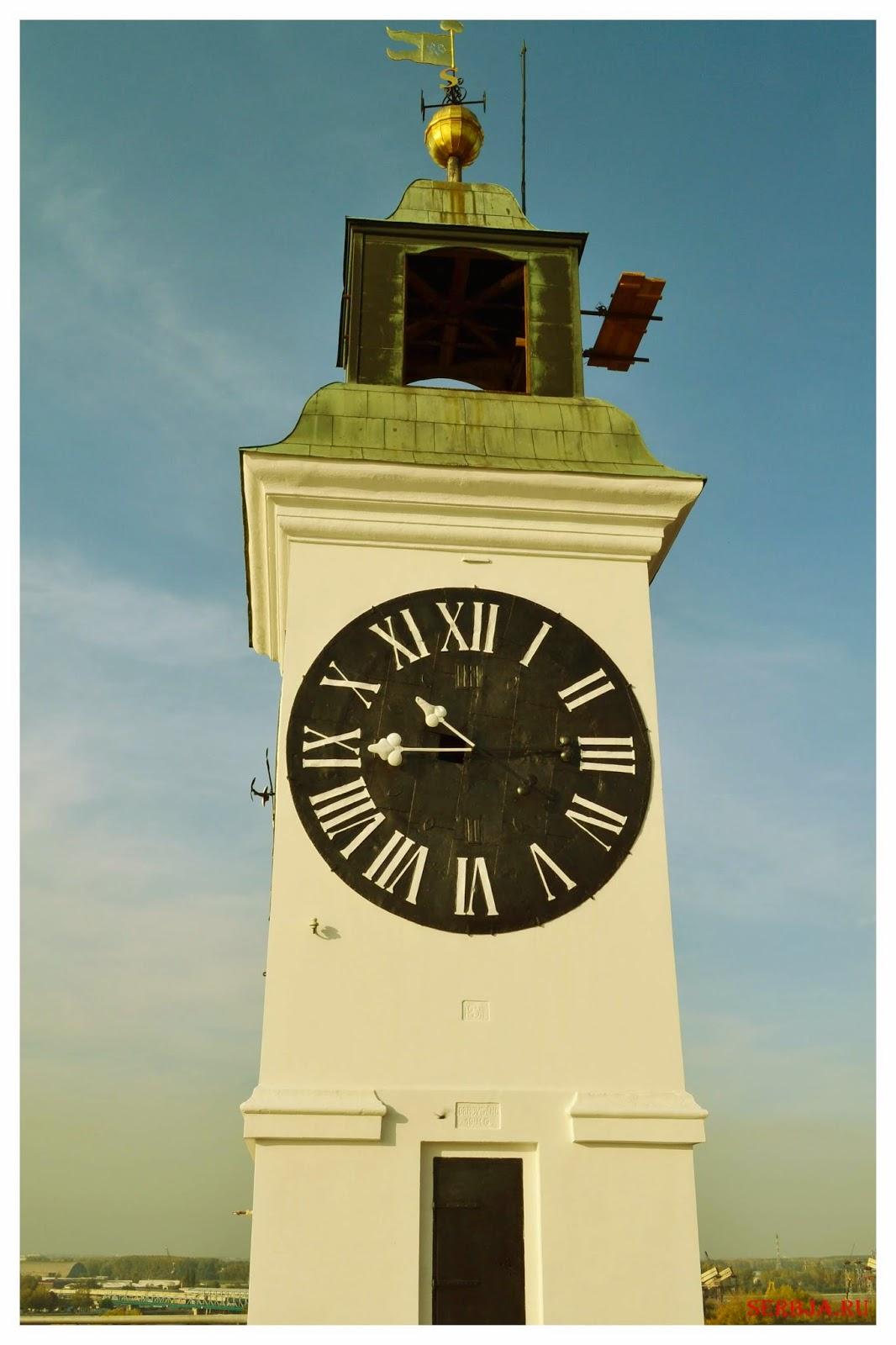 Часы Петроварадинской крепости
